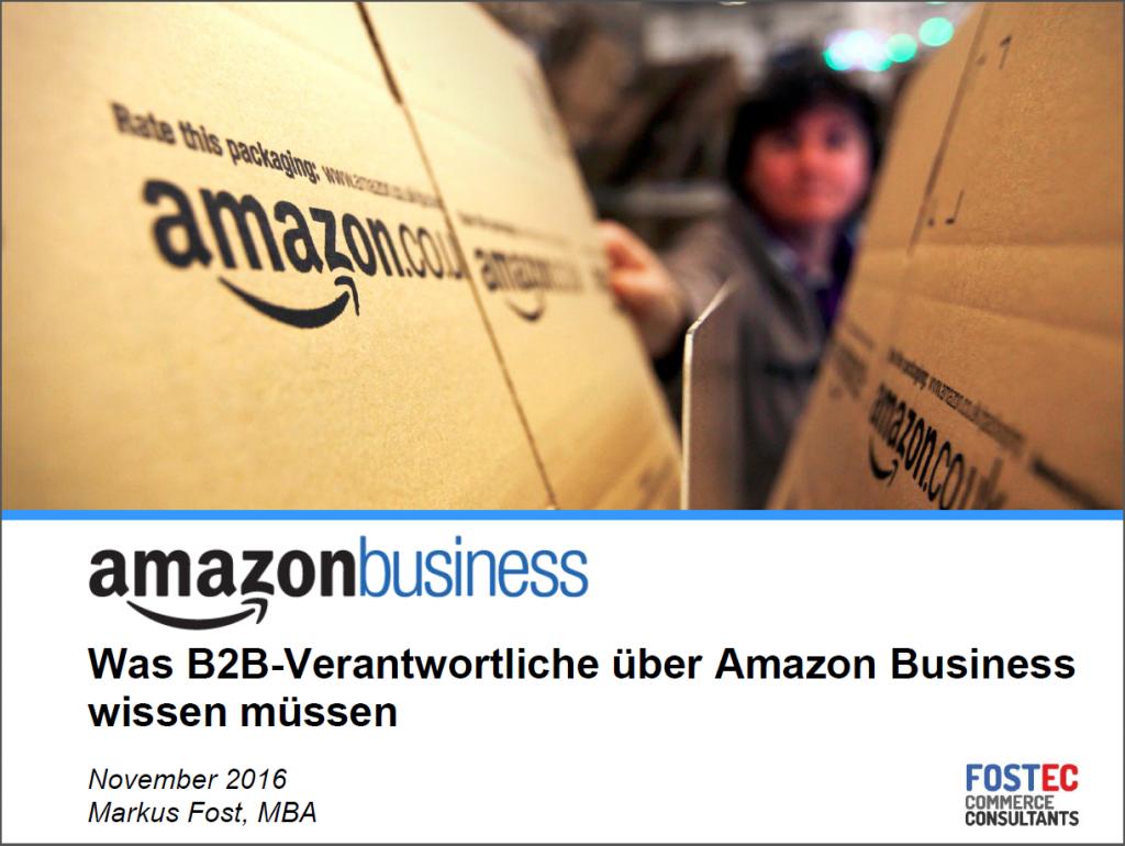 Amazon Business startet in Deutschland! – Was bedeutet der ...